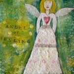 Angel of healing 11X14