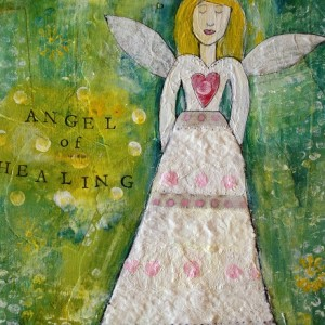 Angel of healing 11X14