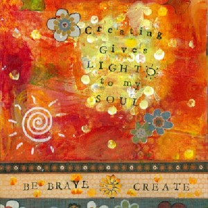 be brave create