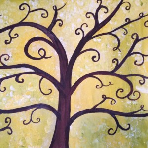 Tree-of-Life painting