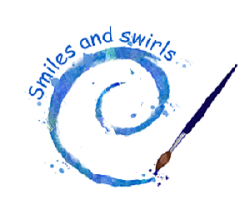 smiles and swirls new logo final final