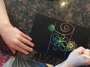 scratch art claire beginning