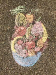 chalk fruit