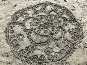 sand art mendala