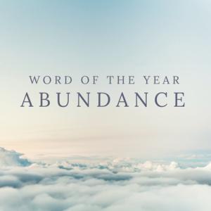 word abundance