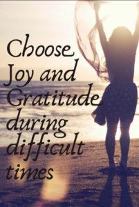 choose joy and gratitude image