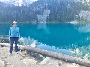 joffre lake me standing
