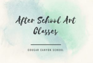 after school art classes logo