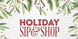 sip and shop 2019