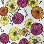 circle flowers art