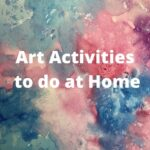 art activities blog post
