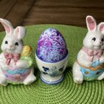 easter egg with rice picture