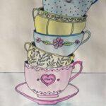tea cup art 1