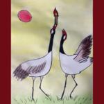 olympic crane art